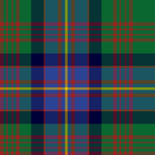Cochrane tartan XL, green and blue