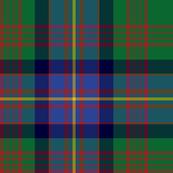 Cochrane tartan XL, green and blue