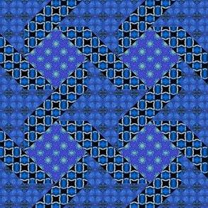 Soft Blue Ribbon Star