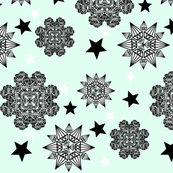 Stars and diamonds mint