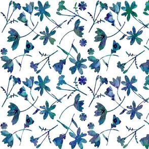 Tapestry Garden blue