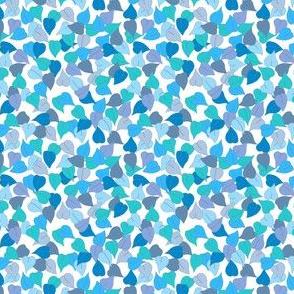 Tiny leaf blue