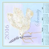 2016 handmade paper dove