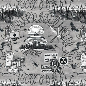 Post-apocalyptic Toile with Twinkies