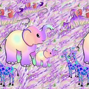 Baby Animals Pink