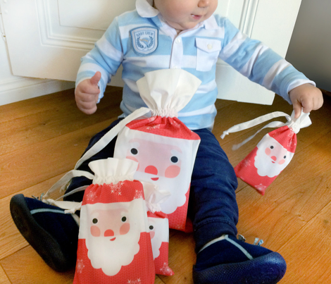 santa claus bag kit