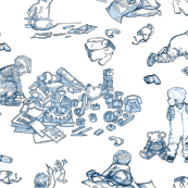 Nursery Mayhem Toile