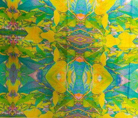 Art Nouveau leaves #1