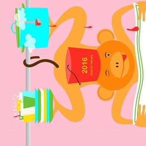 2016 Year of the Monkey Calendar