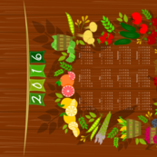 2016 Farmers Market Calendar