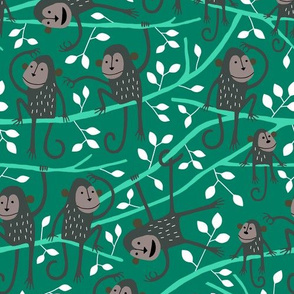 Monkey tree (green)