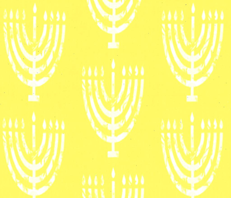 Lemon Menorah