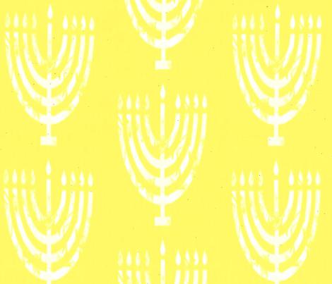 Lemon Menorah