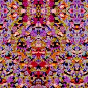 Electronic Inkblot lilac