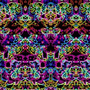 Neon Inkblot magenta