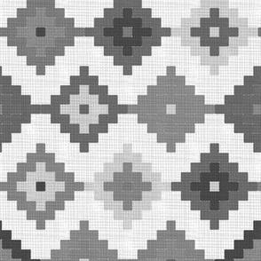 Cloth Moroccan Diamonds