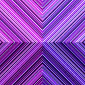 Purple Butterfly Geometric