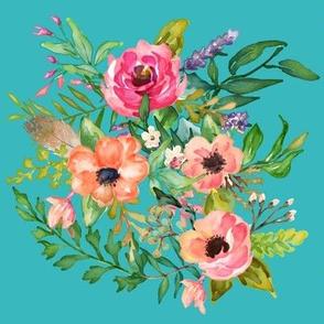 Bright Florals Print