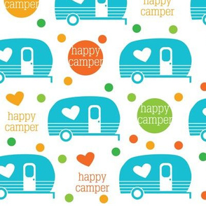 Happy Camper - Spring Colors