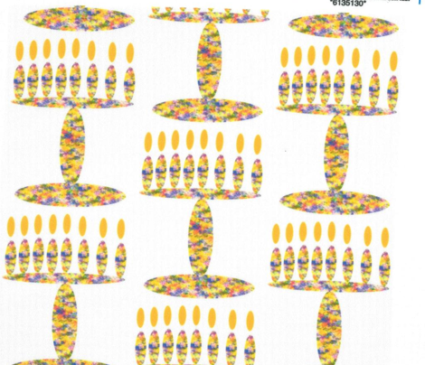 Flowered Menorah