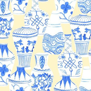 Chinese Vases (cream background)