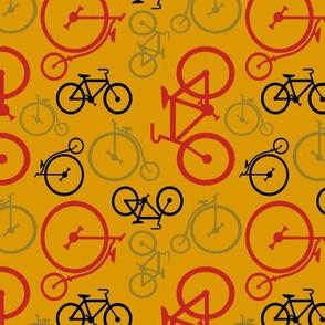 small vintage bike coordinate by Diane Gilbert