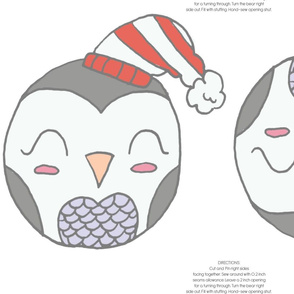 CUTE PENGUIN PILLOW