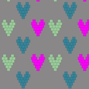 Pixel Heart V