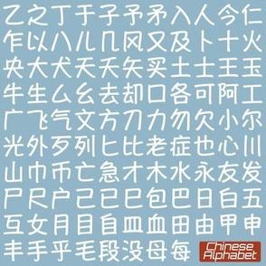Chinese Alphabet 1