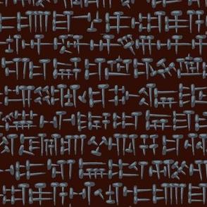 Antique nail cuneifom