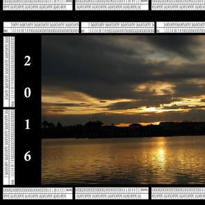 2016_Calendar - Sunset