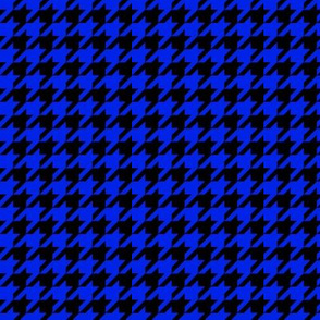 houndstooth-blue