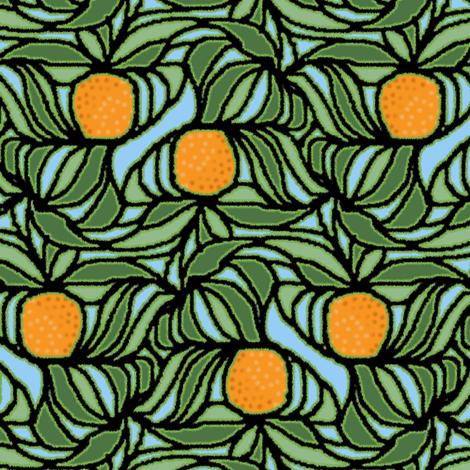 Fuzzy Orange Tree