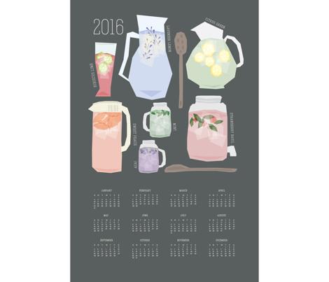 2016 [Iced] Tea Time Calendar