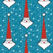 Tall Hat Santa