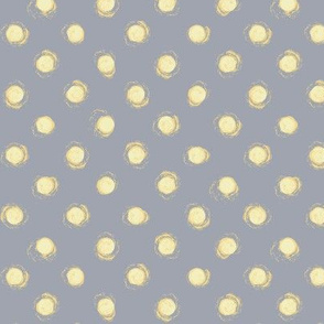 yellow dots on gray