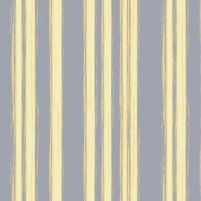 yellow stripes on gray