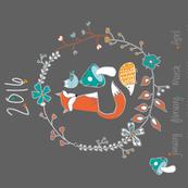 Foxy 2016 calander