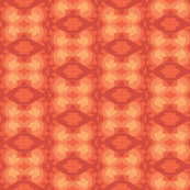 Absteact Decorative Stripe in Shades of Orange