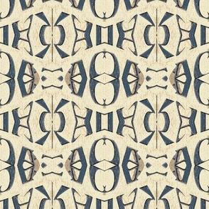 Distressed Paint Abstract Pattern