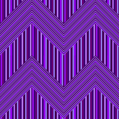 Purple Butterfly Microstripe Chevron