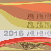 Still Mod Tea Towel 2016