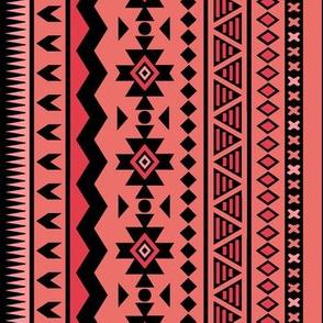 Coral Aztec