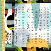 2016 teatowel calendar