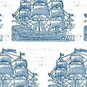 Broadside Ships Blue BIGGER