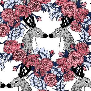 Calendar Deer Pattern
