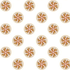 Pizza Polka Dots