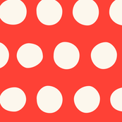 Jumbo Dots: Red