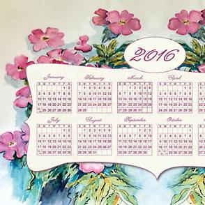 2016_Calendar_Towel