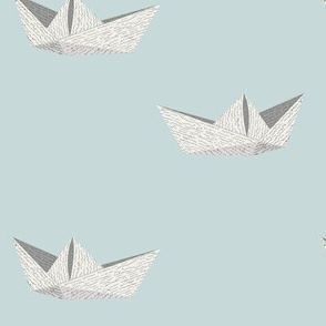 Newspaper Sailboat